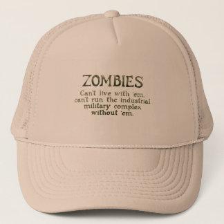 Zombies Industrial Military Complex Trucker Hat