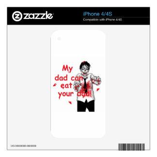 Zombies iPhone 4S Decals