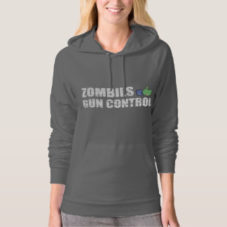 Zombies like Gun Control - 2nd Amendment Hoodie