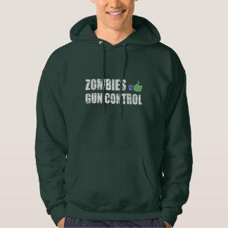 Zombies like Gun Control - 2nd Amendment Hoodie