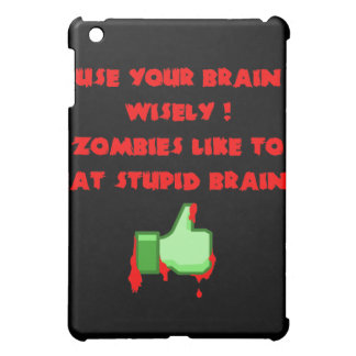 Zombies like stupid brains cover for the iPad mini