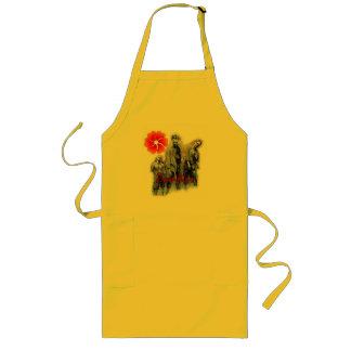zombies long apron