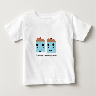 Zombies Love Cupcakes Baby T-Shirt