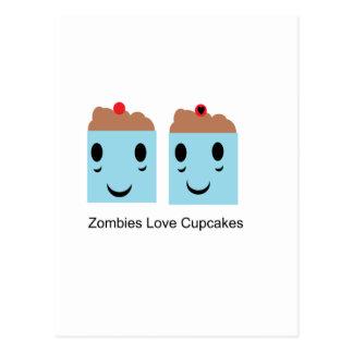 Zombies Love Cupcakes Postcard