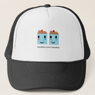Zombies Love Cupcakes Trucker Hat