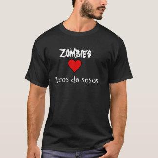 Zombies love tacos de sesos shirt