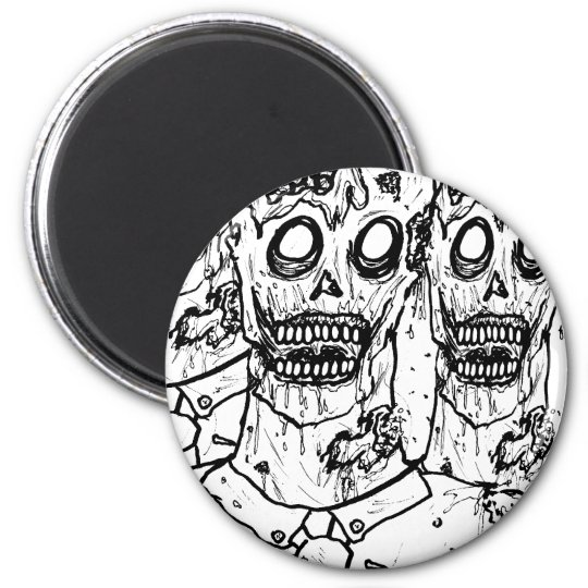 Zombies! Magnet
