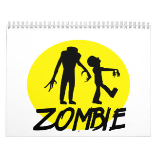 Zombies moon calendars