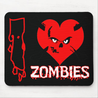 Zombies - mouse pad