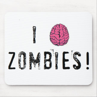Zombies! Mouse Pad