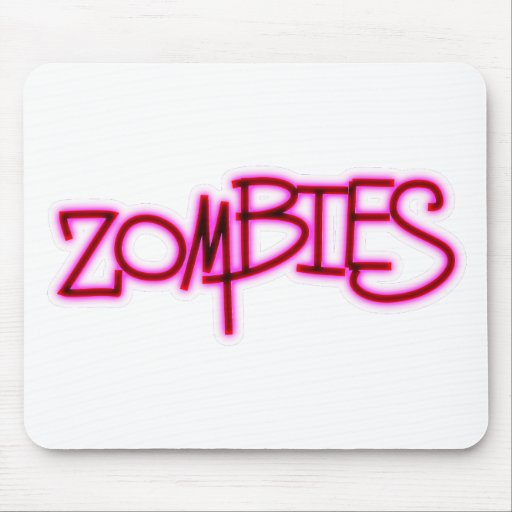Zombies! Mouse Pads