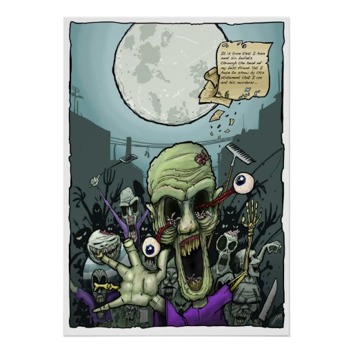 Zombies Night Out Posters