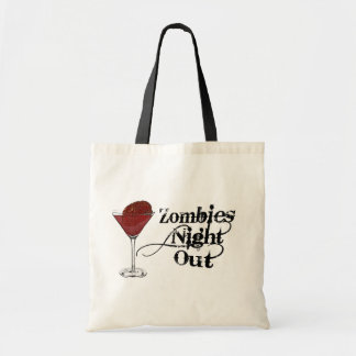 Zombies Night Out Tote Bags