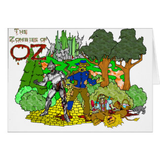 Zombies of OZ Greeting Cards