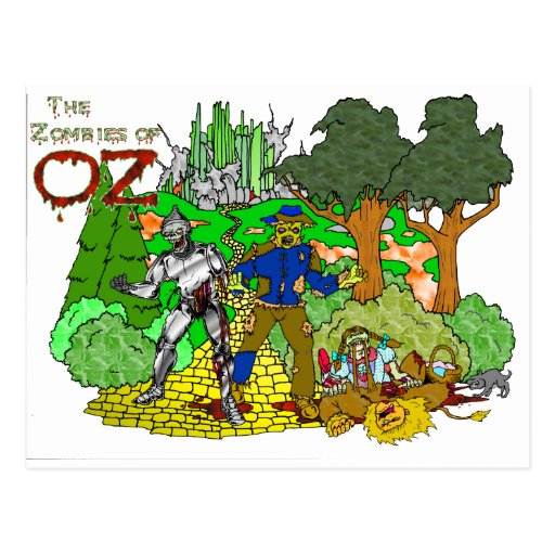 Zombies of OZ Post Cards