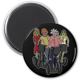 Zombies on Segways 2, magnet