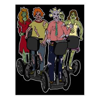 Zombies on Segways 2, postcard