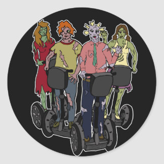 Zombies on Segways 2, stickers
