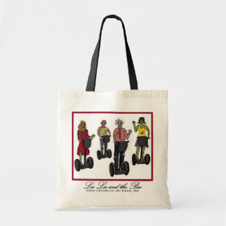 Zombies on Segways, shopping bag Budget Tote Bag
