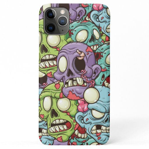 Zombies Pattern Halloween iPhone 11 Pro Max Case