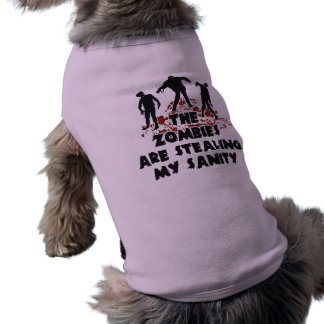 Zombies pet clothing