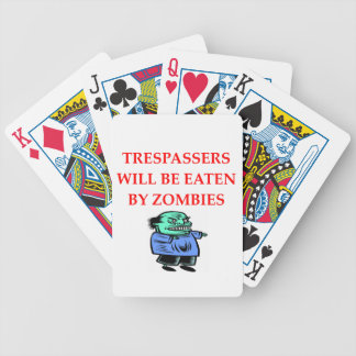 ZOMBIES.png Bicycle Playing Cards