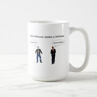 Zombies Politicians Classic White Coffee Mug