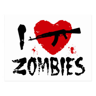Zombies Post Cards