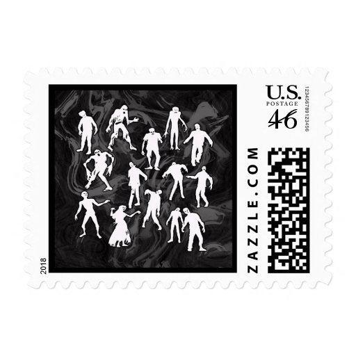ZOMBIES STAMP