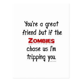 Zombies Postcard