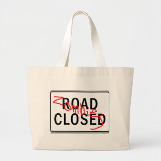 Zombies Road Closed Bag