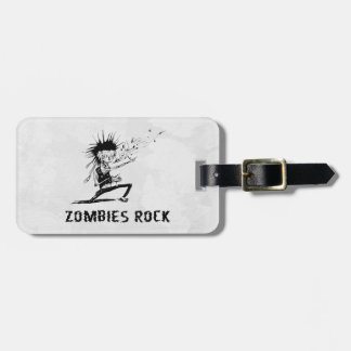 zombies rock tags for luggage