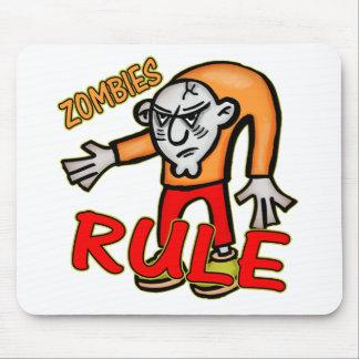 Zombies Rule Mousepad