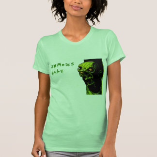 ZOMBIES RULE T SHIRT