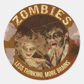 Zombie's Seal - Supernatural Sticker