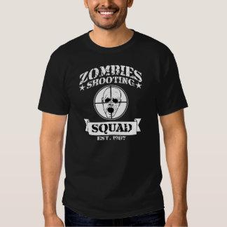 Zombies Shooting Squad Tshirt