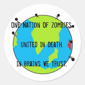 Zombies Sticker!
