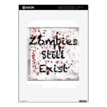 Zombies still existing iPad 3 decal