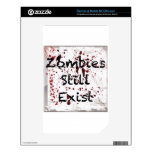 Zombies still existing NOOK color decal