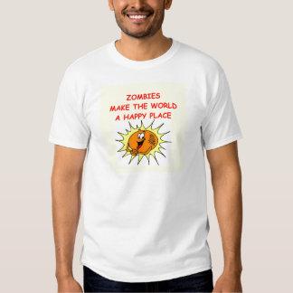 zombies tee shirt