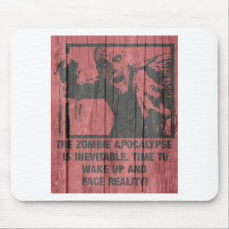 zombies - the apocalypse  is coming mouse pad