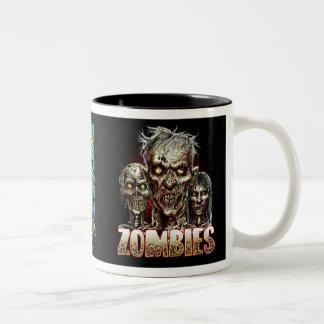ZOMBIES! Two-Tone COFFEE MUG