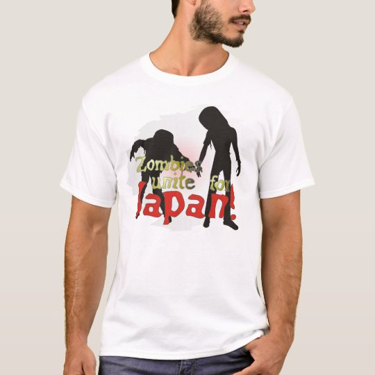 Zombies Unite for Japan! Shirt