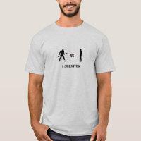 Zombies VS Humans T-Shirt