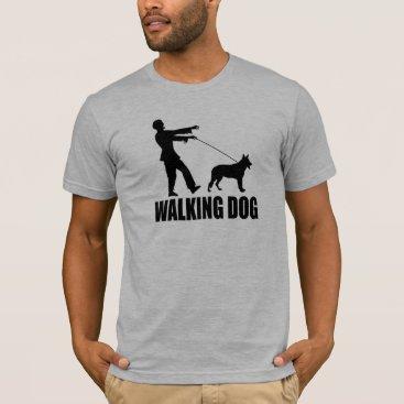 thezombiezone (Zombies) Walking Dog T-Shirt