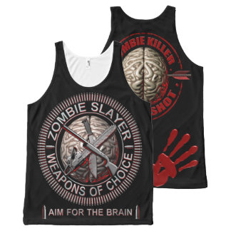 Zombies - Weapons of Choice All-Over-Print Tank Top