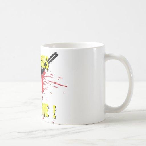 Zombies Welcome Coffee Mug