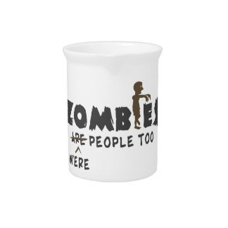 Zombies Were People Too Drink Pitcher