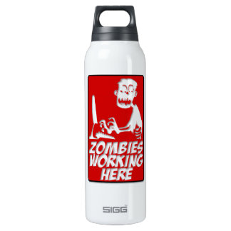 Zombies Working Here SIGG Thermo 0.5L Insulated Bottle