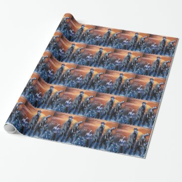 WildDaggerArt Zombies! Wrapping Paper